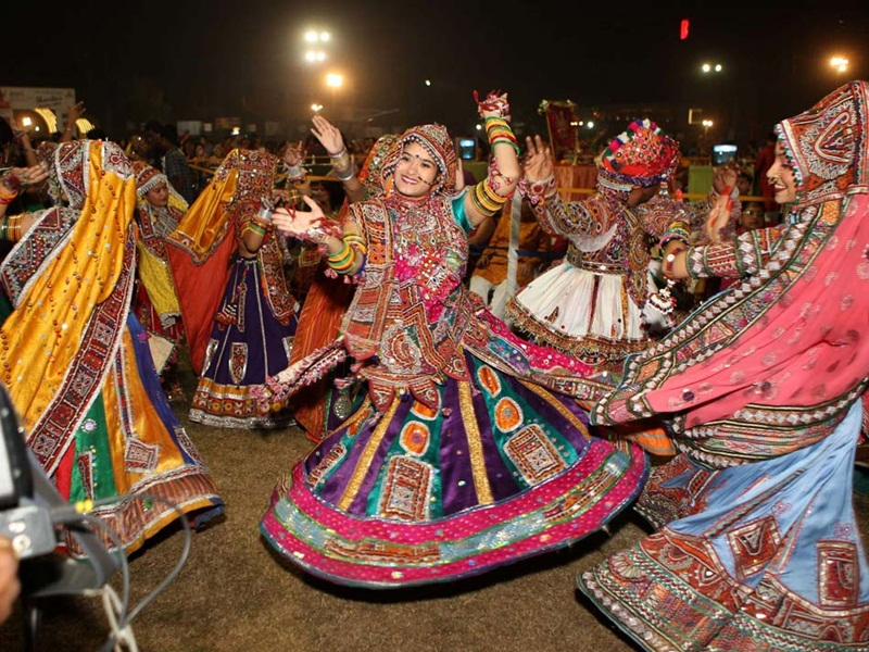 Navratri-Dandia Night