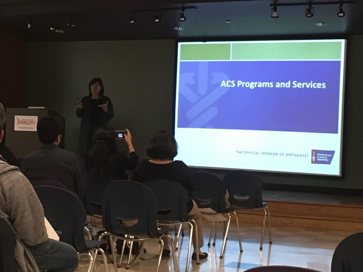 Speaker Series 2018 – ACS